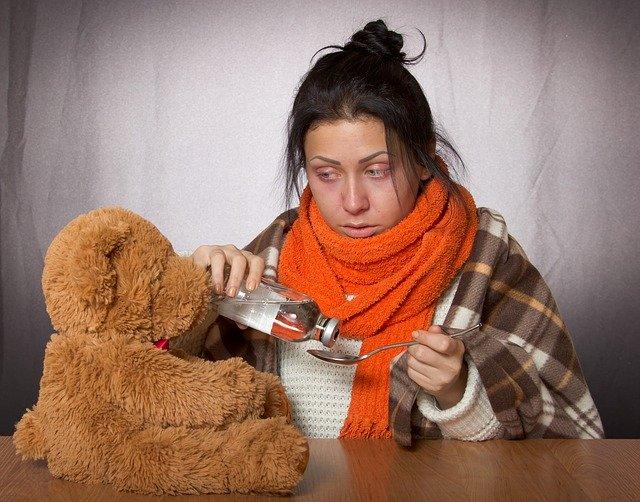 Soğuk algınlığına ve grip belirtileri